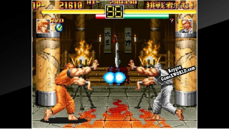 Ключ для ACA NEOGEO ART OF FIGHTING