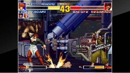 ACA NEOGEO THE KING OF FIGHTERS 95 ключ активации