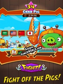 Angry Birds Fight RPG Puzzle ключ активации