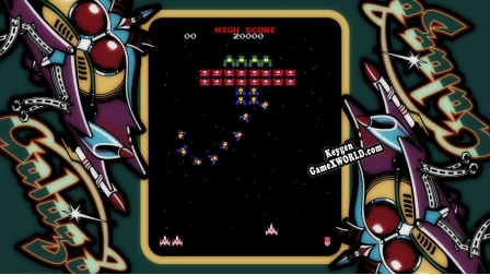 ARCADE GAME SERIES GALAGA генератор ключей