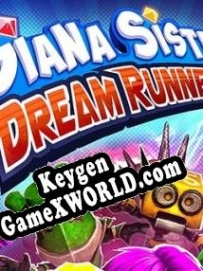 Генератор ключей (keygen)  Giana Sisters Dream Runners