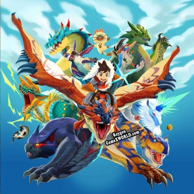 Генератор ключей (keygen)  Monster Hunter Stories