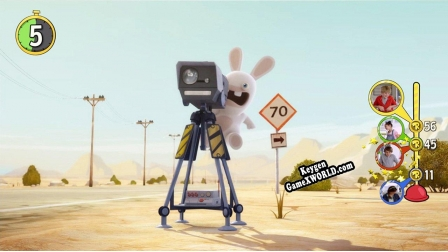 Ключ для Rabbids Invasion