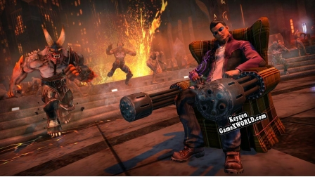Ключ для Saints Row IV Re-Elected  Gat out of Hell