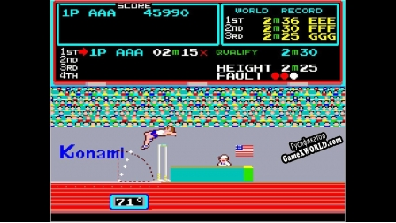 Русификатор для Arcade Archives TRACK  FIELD