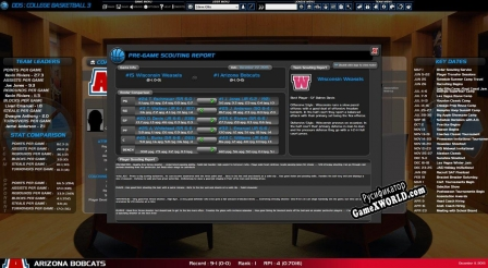 Русификатор для Draft Day Sports College Basketball 3