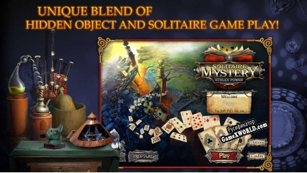Русификатор для Solitaire Mystery Stolen Power