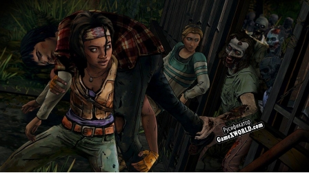Русификатор для The Walking Dead Michonne - Episode 2 Give No Shelter