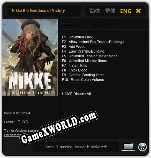 Nikke the Goddess of Victory: Трейнер +6 [v1.1]